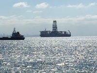 Türkiye'nin ilk yerli sondaj gemisi 'Fatih' Yenikapı açıklarında demirledi