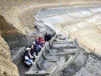Sırbistan'da kömür madeninde Roma döneminden kalma gemi enkazları bulundu