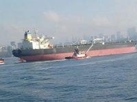 ''Militos'' adlı ham petrol tankeri, İstanbul Boğazı'nda arıza yaptı