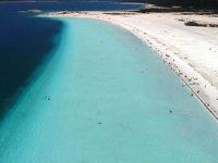 Salda Gölü koronavirüs tedbirleri kapsamında ziyarete kapatıldı