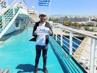 El Venizelos gemisinin yolcularının dönüş yolculukları başladı