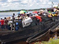Kongo Demokratik Cumhuriyeti'nde tekne battı