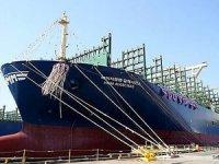 Hyundai, dünyanın en büyük konteyner gemisini isimlendirdi