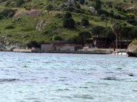 Bodrum Küdür Yarımadası'ndaki iskele ve işletmeler yıkıldı
