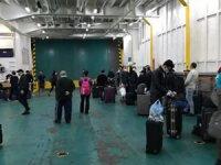 Türk gemi çalışanları, 58 gün sonra ailelerine kavuştu