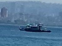 Büyükada'da özel tekne Deniz Polisi tarafından durduruldu