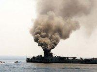 İran'da deniz tatbikatı kazasında ölenler için cenaze töreni düzenlendi