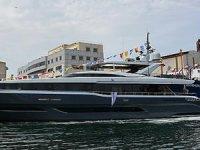 SEA STAR isimli 35.5 metrelik motor yat denize indirildi