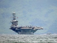 USS Theodere Roosevelt uçak gemisinde koronada ikinci dalga