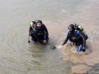 Irmakta bir kadının cansız bedenine ulaşıldı