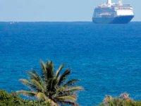 Kruvaziyer gemilerin yeni rotası Akdeniz
