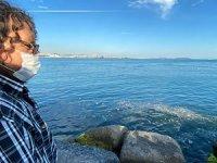 İstanbul Boğazı'nda oluşan çöp adacıkları vatandaşların dikkatini çekti