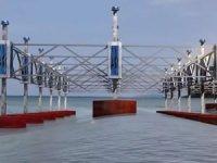 Hibrit yüzer platform, deniz üzerinde farklı kaynaklardan elektrik üretmeyi mümkün kılacak