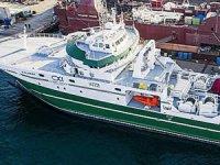 Tersan, inşa ettiği fabrika balıkçı gemisi Calvert'i teslim etti