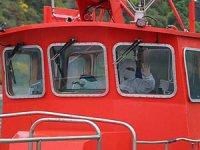 Kılavuz kaptanların korona virüs önlemleri görüntülendi