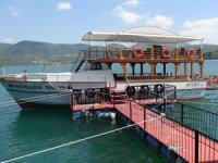 Kozan Barajı'nda tekne keyfi başlıyor