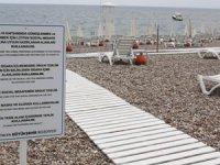 Konyaaltı Sahili yeni normal standartlarında düzenlendi