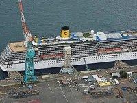 Covid-19 vakaları görülen Costa Atlantica adlı yolcu gemisi Japonya'dan ayrıldı