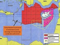 Türkiye'nin Doğu Akdeniz'deki yeni sondaj haritası paylaşıldı