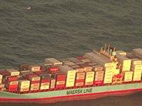 Maersk gemisinde patlama meydana geldi