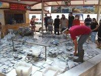 Vatandaşların balık mezatlarına ilgisi büyük