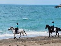Zonguldak'ta atlı jandarma timi görevine başladı