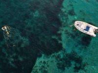 Karaburun su altı güzellikleriyle ziyaretçilerin ilgisini çekiyor