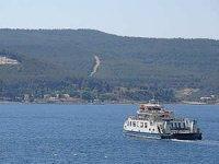 Çanakkale'de boğaz ve adalar hattı feribot seferleri artıyor