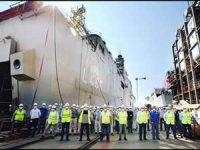 TCG Anadolu'nun liman kabul testleri başladı