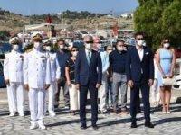 Denizcilik ve Kabotaj Bayramı, pandemi nedeniyle Ege ve Akdeniz'de buruk kutlandı