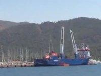 Muğla'ya lüks yatlar kargo gemisiyle geliyor