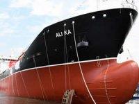 M/T ALI KA isimli kimyasal tanker, törenle denize indirildi