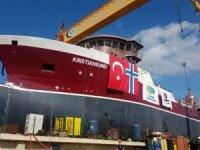 Cemre Tersanesi'nin Norveç için inşa edilen gemi denize indirildi