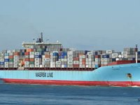 Sine Maersk gemisi Aliağa'da sökülecek