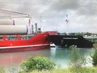 M/V FLORENCE SPIRIT ile M/V ALANIS, Kanada'nın Welland Kanalı'nda çatıştı