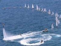 Antalya'da Yelken ve Kano Sporcuları 15 Temmuz Şehitlerini andı