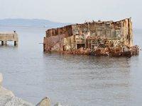 Batık gemi Pasha 7 yıldır çıkarılmayı bekliyor