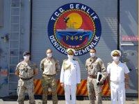 TCG Gemlik, Malta'ya liman ziyaretinde bulundu