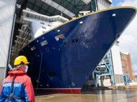 Saga Cruises için inşa edilen Spirit of Adventure, Almanya'da denize indirildi