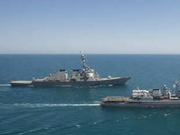 ABD deniz ve hava kuvvetleri, Karadeniz'de tatbikat yaptı