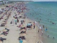 Saros Körfezi tatilci akınına uğradı
