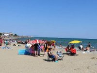 Tekirdağ, 'mavi bayraklı' plajlarıyla tatilcileri cezbediyor