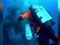 İyonya Denizi'nde yarım tonluk balıkçı ağı temizlendi!
