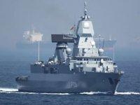 Almanya, Libya açıklarına 'Hamburg' isimli bir fırkateyn gönderdi