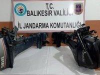 Deniz motorlarına dadanan hırsızlar yakalandı