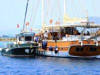 Teknelerden 109 bin 230 kilo katı atık toplandı