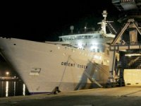 Beyrut'taki patlamada hasar gören 'Orient Queen' isimli yolcu gemisi battı