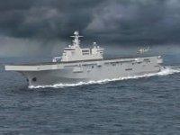 Çin'in ilk 075 Tip amfibi hücum gemisi deniz tatbikatlarına başlıyor