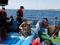 Ege Denizi'nde 537 teknede corona denetimi yapıldı
