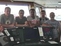 Lübnan'ın el koyduğu Palmali Holding'e ait 'Captain Nagdaliyev' isimli gemisinin mürettebatı isyan etti